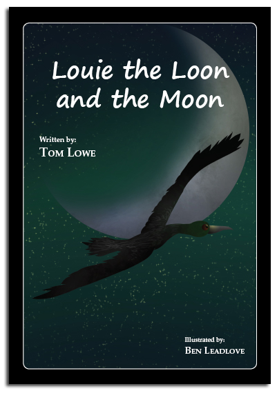 Louie the Loon and the Moon